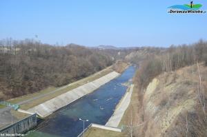 Zapora wodna w Sieniawie