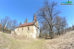 Ruina cerkwi w Króliku Wołoskim